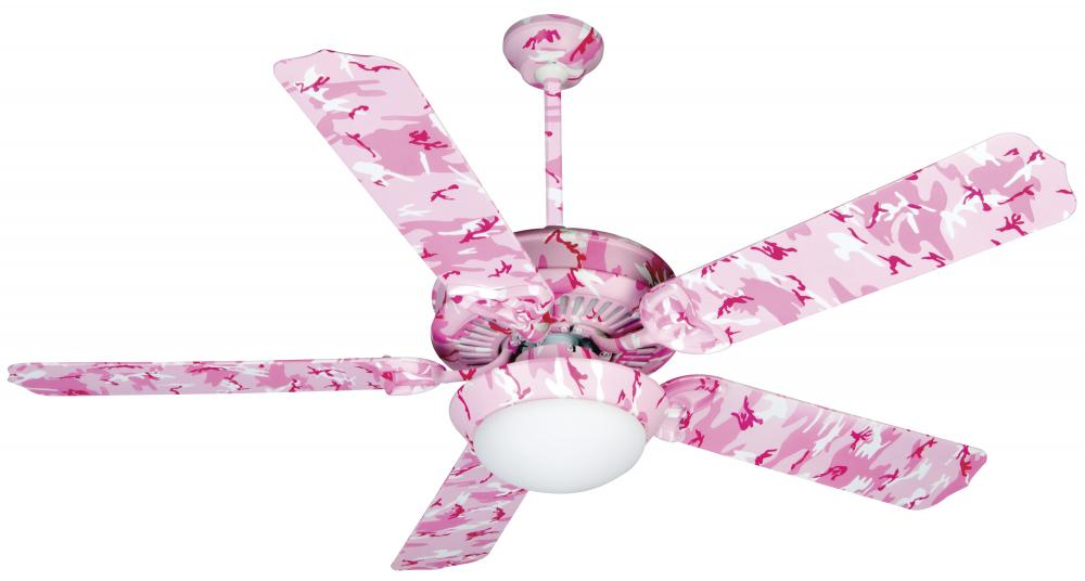 Pink ceiling fan with light ceiling fan ideas two light pink camouflage ceiling fan l7h7 lighting concepts aloadofball Image collections