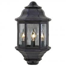 Acclaim Lighting 6003BC - Pocket Lantern Collection Wall-Mount 3-Light Outdoor Black Coral Light Fixture