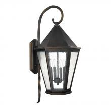 Capital 9629OB - 4 Light Outdoor Wall Lantern