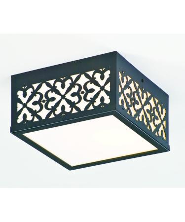 Lighting Concepts. Two Light Architectural Bronze Outdoor Flush Mount  (7TGG). $190.50. Call For Price. Enlarge Image
