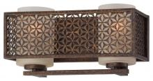 Minka Metropolitan n2722-258 - Two Light Scavo Glass French Bronze Vanity