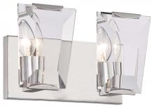 Minka Metropolitan n2982-613 - Two Light Bath Polished Nickel