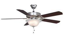 Fanimation BP220SN1-220 - Aire Decor - 52 inch - SN with Glass Bowl Light - 220v